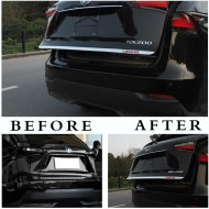 CHROME TAILGATE TRUNK DOOR LID MOLDING TRIM COVER FOR Lexus 2015-2016 NX200