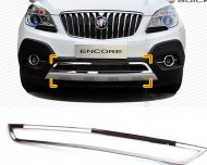2012 2013 BUICK ENCORE OPEL MOKKA chrome front LOWER CENTER GRILLE grill trim cove
