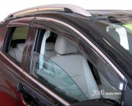 2013 FORD Escape / Kuga Window Visor Vent with chrome