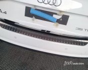 AUDI A4 S4 2008-2014 Bumper sill Protector cover trim plate Stainless steel