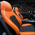 LEATHER FULL SEAT MAT COVER FOR Porsche Accessories 2011-2013 Cayenne