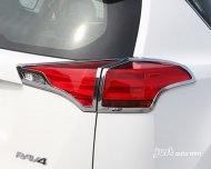 2013 2014 Toyota rav4 Chrome taillight rear light cover trim
