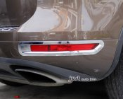 Touareg fog cover Chrome trim 2011 2012 front&rear 4pcs