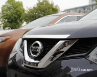2014 2015 Nissan Rogue / X-Trail Stainless Steel front hood cover trim