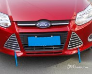 2012 FORD FOCUS Chrome Front Grille Decoration Fog Light Cover Trim 2pcs