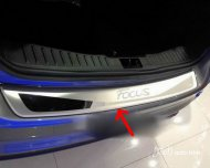 2012 Focus Hatchback Rear Bumper Sill/Protector Plate Steel cover