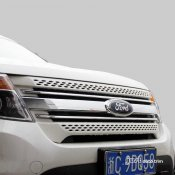 2010-2015 Ford Explorer Chrome front grille cover trim