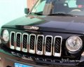 2011- 2013 JEEP PATRIOT chrome front grille vent hole frame trim cover