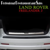 Land Rover Freelander 2 Stainless steel Rear Bumper cargo Protector sill plate cover
