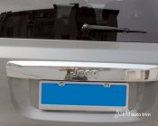 2011 -2014 jeep compass Chrome Tailgate Trunk Rear lid Hatch trim cover