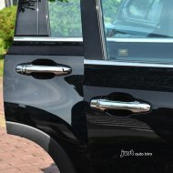 Chrome 4doors handle molding cover trims for 2014-2016 Highlander