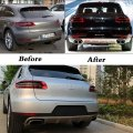 FRONT&REAR BUMPER COVER KIT FOR Porsche Accessories 2011-2013 Cayenne