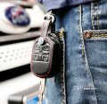 2010-2015 Ford Explorer Genuine Leather Key Cover