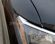 2014 2015 Nissan Rogue / X-Trail Chrome front light headlight cover molding trim