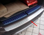 BMW X3 Bumper Sill/Protector Plate Steel cover F25 Style 2