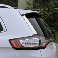 Chrome Rear Glass Frame Molding Trim Cover for 2015-2016 FORD EDGE