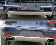Porsche Macan Stainless steel Front&rear Bumper Cover Protector