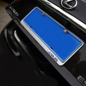 CHROME REAR LICENSE PLATE FRAME MOLDING COVER TRIMS FOR Lexus 2015-2016 NX200