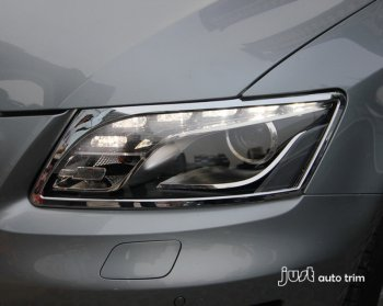 2010 -2012 AUDI Q5 Chrome headlight front light cover trim