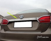 2011-2013 VW Jetta Sedan Chrome rear Trunk Lid Garnish Molding Trim Cover