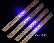 Toyota wish led door sill protector set 2009-2013