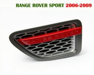 2006- 2009 Range Rover Sport SILVER/RED AUTOBIOGRAPHY wing SIDE VENT Air GRILLE