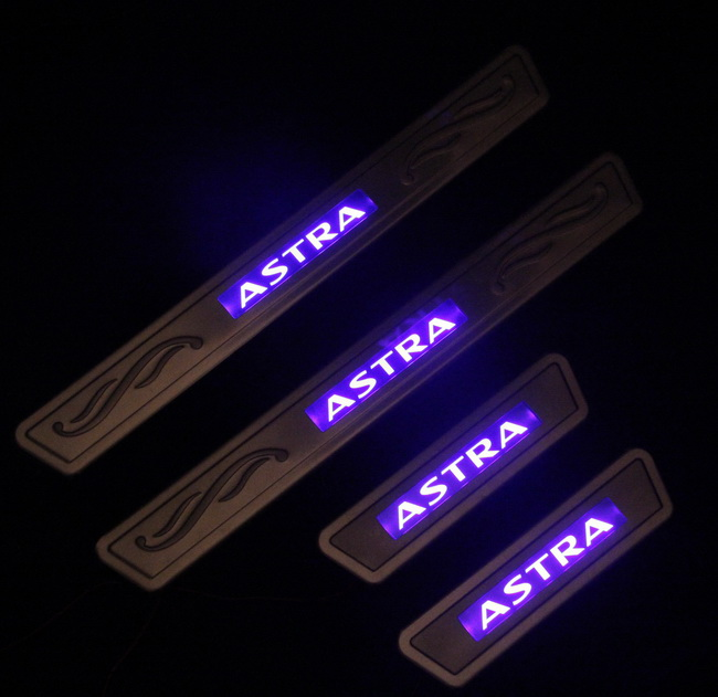 Honda Fit Roof Rack >> OPEL Astra led door sill protector set|astra trim cover parts