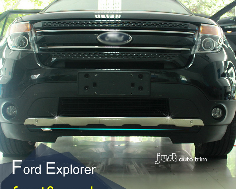 2011 2014 Ford Explorer Sport Stainless Steel Front Amp Rear